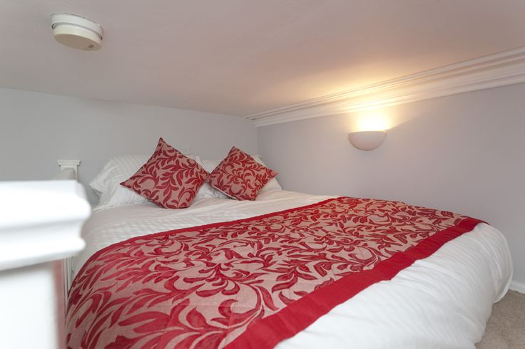 Get cosy in your mezzanine double bed and feel on top of the world!