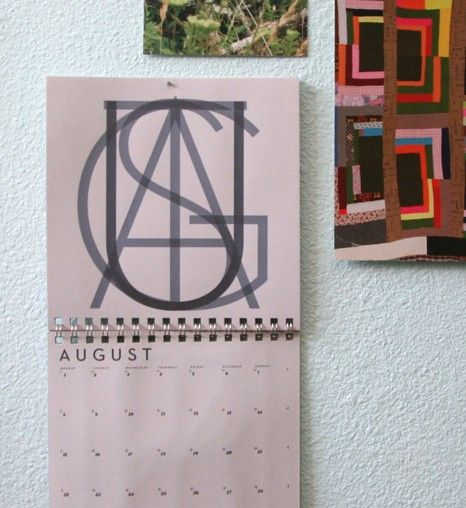 Neutraface calendar