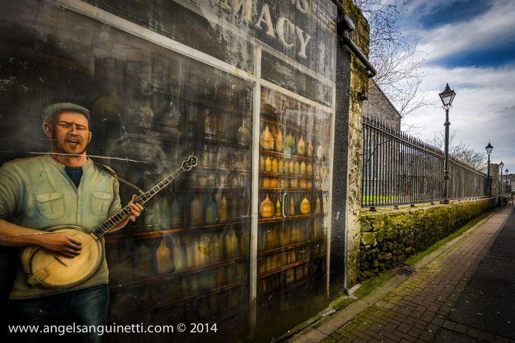 mural in Galway