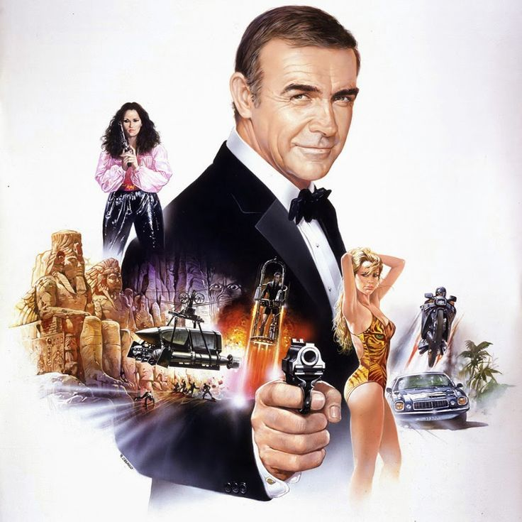 Illustrated 007 - The Art of James Bond Illustration by Renato Casaro