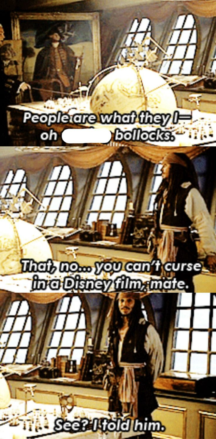 lol at Johnny Depp bloopers and outtakes. Particularly this- I get the feeling he was told not to curse multiple times