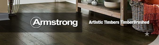 Armstrong hardwood flooring Artistic Timbers TimberBrushed collection on sale at American Carpet Wholesale with huge savings!