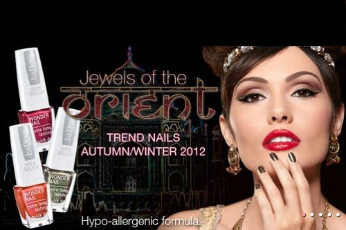 Trend Nails a/w 2012 Jewels of he Orient by Isadora