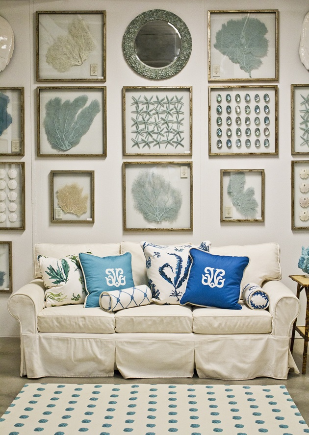 Karen Robertson Collection - I would love some sea fan art in my house.