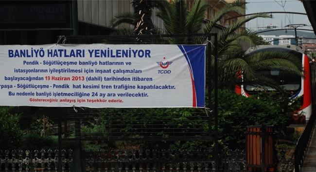 Haydarpaşa Garı ve Liman Dönüşüm Projesi kapsamında tren seferlerine kapatıldı.