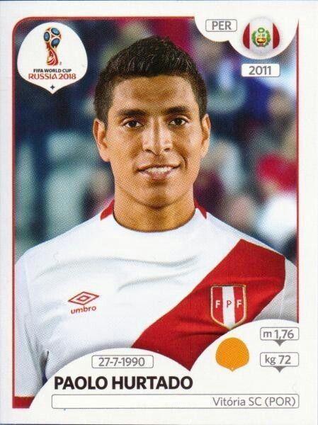 34979ddcae Paolo Hurtado - Peru Figurinhas Da Copa
