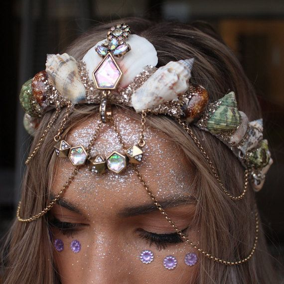 pretty pastel crown by chelseasflowercrowns on Etsy