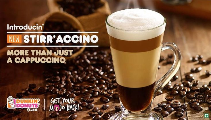 Stir'accino from Dunkin' Donuts India