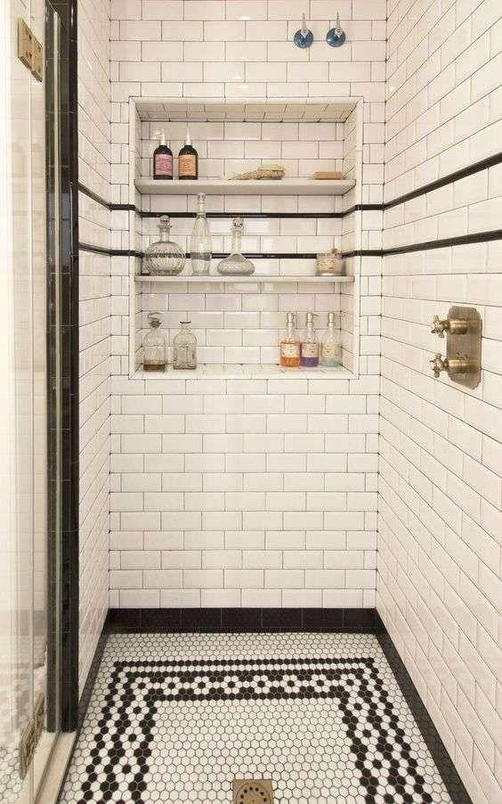 Ben noto Oltre 25 fantastiche idee su Piastrelle per bagno vintage su  PI42