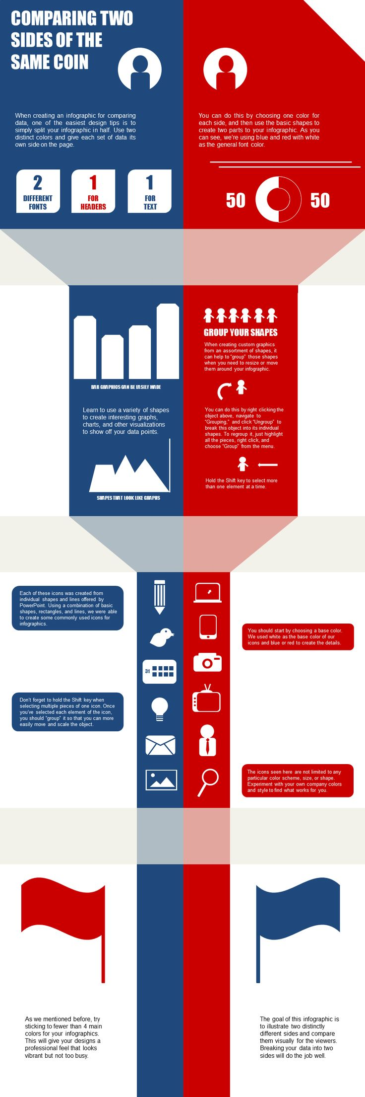 How to Create a Data Comparison Infographic in PowerPoint [HubSpot Infographic]