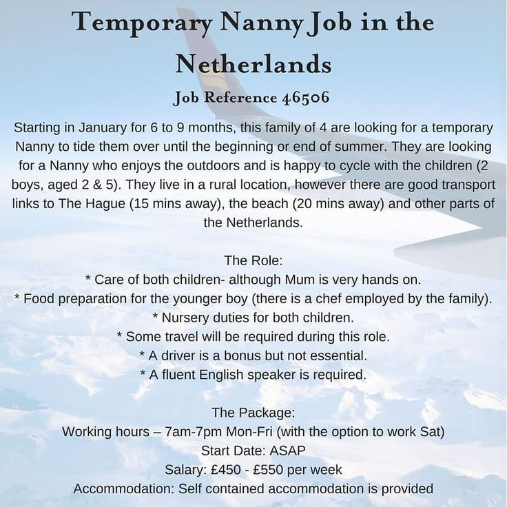The 25+ best Nanny jobs ideas on Pinterest Summer nanny jobs - babysitting duties