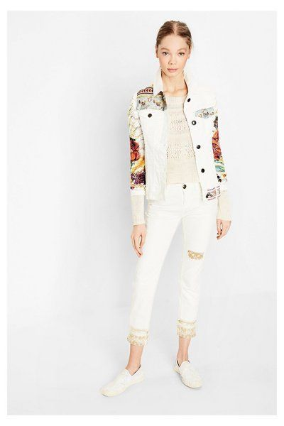 Jacket Exotic White 72E2JK5_5178_B