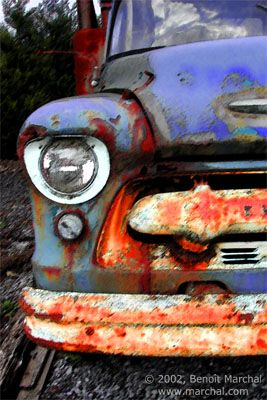 Headlight and Rust