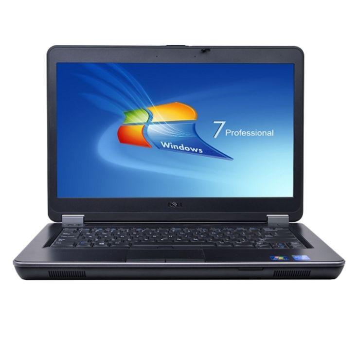 Dell Latitude E6440 Core i7-4600M Dual-Core 2.9GHz 4GB 128GB SSD Radeon HD 8690M DVD±RW 14 LED Laptop W7P (Silver)