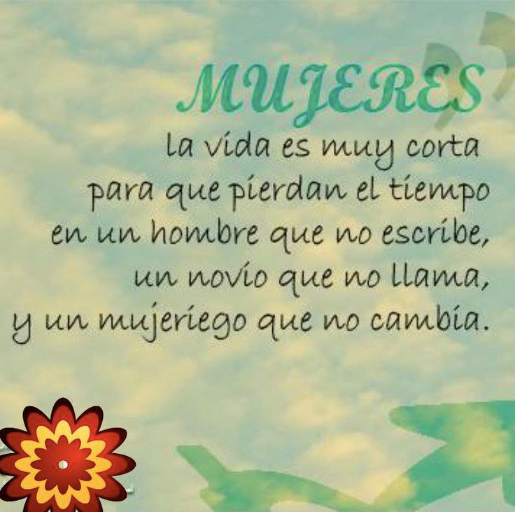 Frase- Mujeres