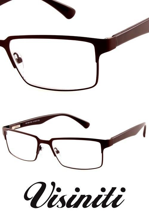 Men's reading glasses in brown from Visiniti. Available in a wide range of strengths, at great prices now on StayAmazing.com!