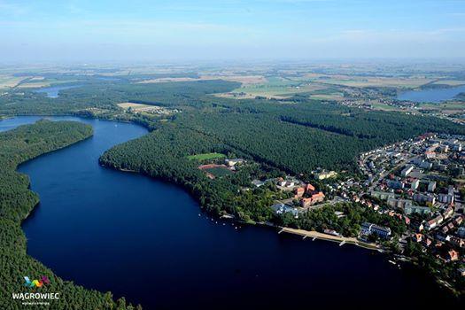 #wągrowiec #wielkopolska #polska #poland #jeziorodurowskie #lake #aquapark #stadion #wagrowiec Fot. Zbigniew Tomczak