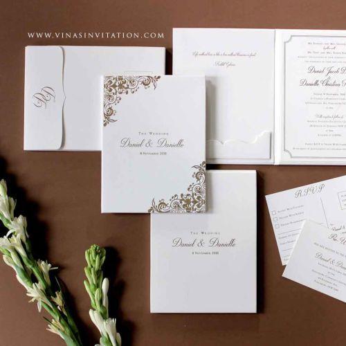 Foto undangan pernikahan oleh Vinas Invitation
