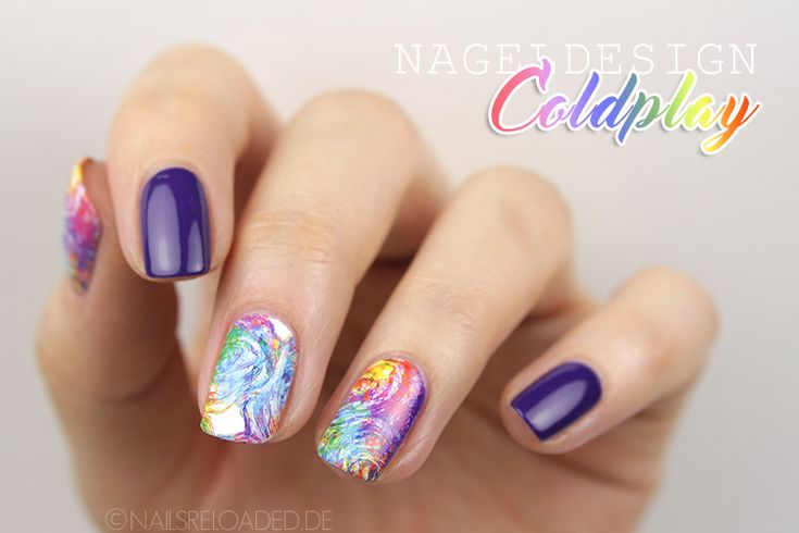 [Nageldesign] Coldplay