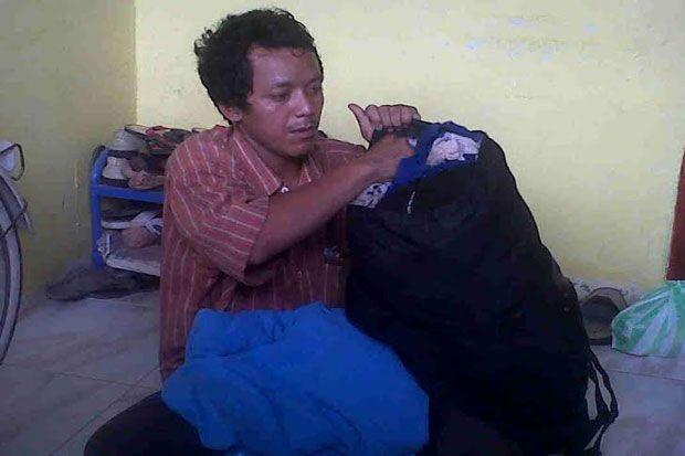 Kabur, TKI Ngesot dari Malaysia ke Batam  http://daerah.sindonews.com/read/967437/24/kabur-tki-ngesot-dari-malaysia-ke-batam-1424594617