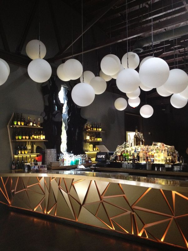 LURE, HOLLYWOOD · Restaurant BarRestaurant DesignBar LoungeInnovative  IdeasBar ...