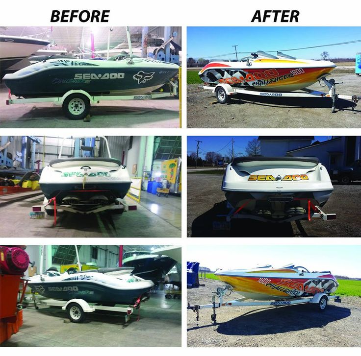 Custom Graphic Graphics Design Art Vinyl Wrap Installation - Custom vinyl decals for boat