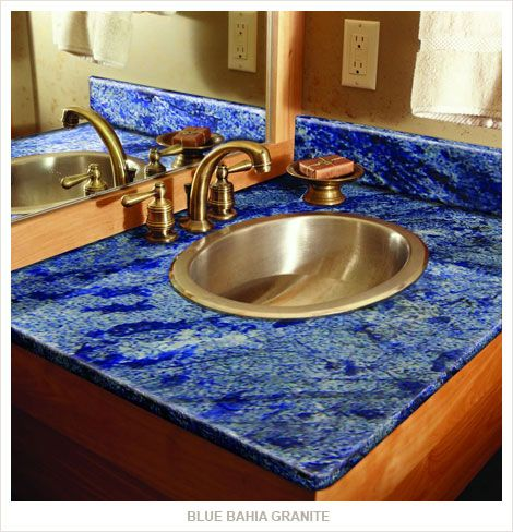 Awesome, Blue Granite. This Is Blue Bahia, The Exact Granite I Want In My  Kitchen | For The Home | Pinterest | Granite, Granite Countertops And  Countertops