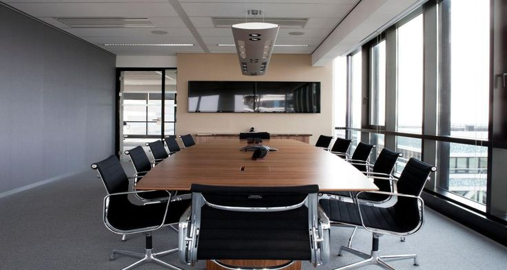 Salle de réunion dans les locaux de Neuberger Berman à La Haye, Pays-Bas