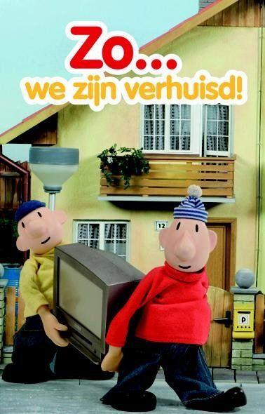 Buurman & Buurman verhuiskaarten Zo...we zijn verhuisd! - BuurmanenBuurman.eu