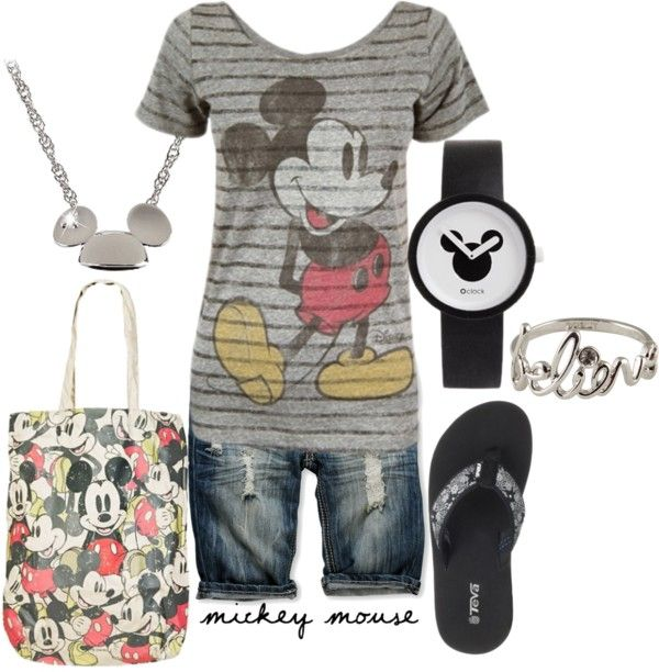 """Vacation Wear"" by lagu on Polyvore. I would change the shorts to jeans and the flip flops to sandals or skechers."