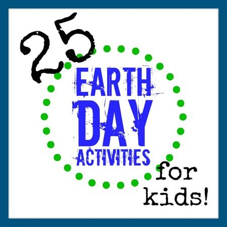 The 25 BEST Kids Earth Day Activities from b-inspiredmama.com    #worldofgood
