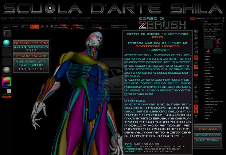 Zbrush 3D Digital Sculpting Course - page 4 by JordanNennaArt.deviantart.com on @deviantART