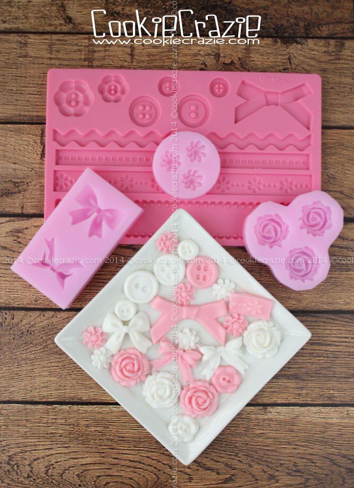 CookieCrazie: Edible Glaze Molding Clay (Recipe)