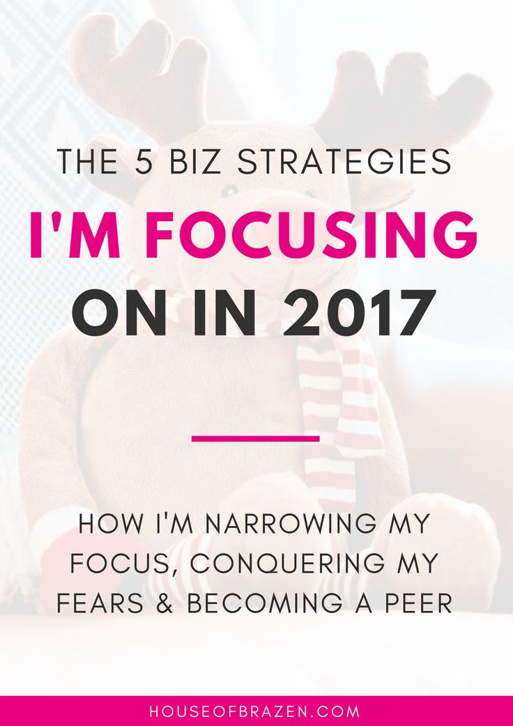My Blog + Business Goals for 2017. Learn the 5 business strategies I'm going to be focusing on in 2017!