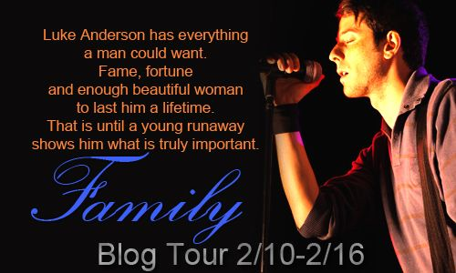 Luke Anderson has everything a man could want. Fame, fortune and enough beautiful woman to last him a lifetime. That is until a young runaway shows him what is truly important. Family.