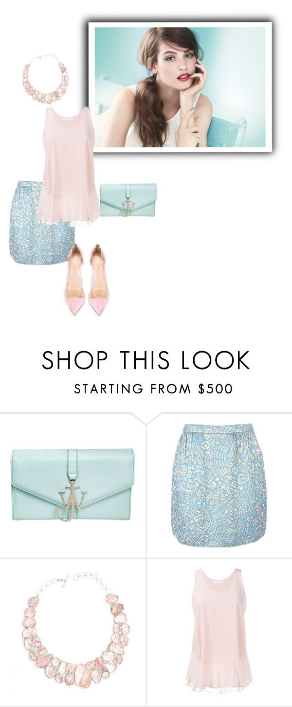 """""""Chloé"""" by sensual-spirit on Polyvore featuring J.W. Anderson, Dolce&Gabbana, Poppy Jewellery, Chloé and Gianvito Rossi"""