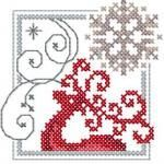 Christmas Snowflake cross stitch free embroidery design - Machine embroidery forum Size: 2.76 x 2.91'