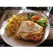 Croque madame that I had in Paris...oh so good!
