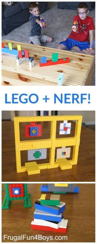 Build Some LEGO Nerf Targets! #diy_for_children