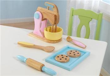 KidKraft Pastellfarget bakesett for barn