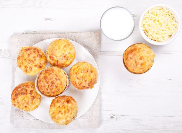 Savory Side Dish: Cheddar Muffins
