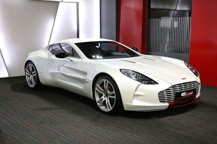 A white Aston Martin One-77 is currently up for sale in Dubai. See it at GTspirit here...