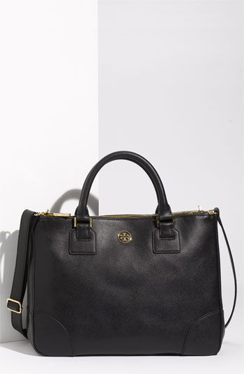 Tory Burch 'Robinson' Double Zip Tote available at #Nordstrom