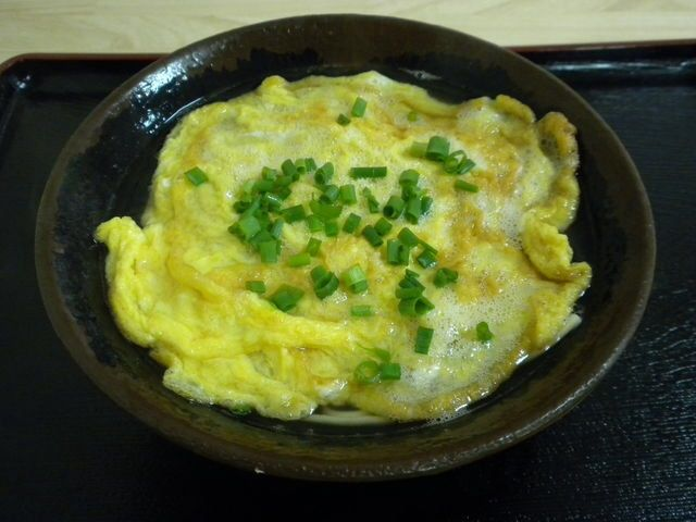 「お食事処 花笠」の卵そば