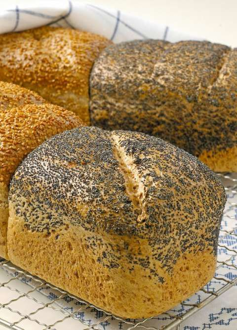 SPELT: Speltbrød med frø fra Opplysningskontoret for brød og korn.fra