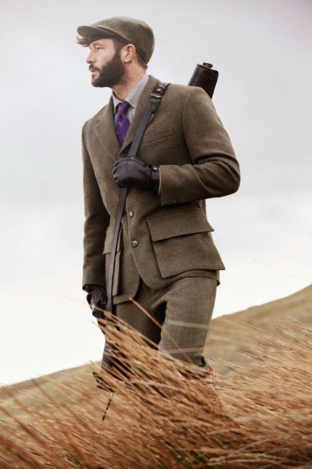 Half Norfolk shooting jacket