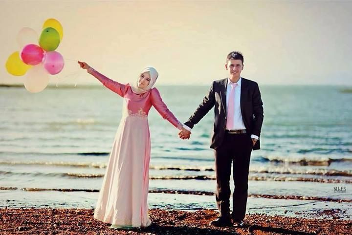 Hijab Photography#Couple#Cute