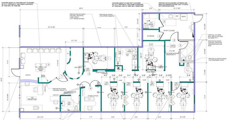 Dental Office Build Out Blueprint Floorplan Homer Glen Www