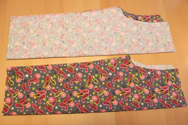 much better pj pants tutorial- DUH front crotch area is NOT going to be the same as back