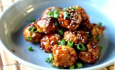 Chicken Teriyaki Meatballs Recipe - Kids food